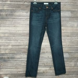 LOFT Petite Modern Straight Leg Jeans Size 28P/6P